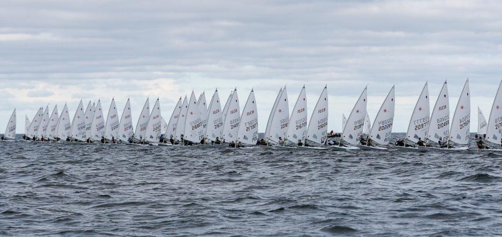 senior europeans race day 1