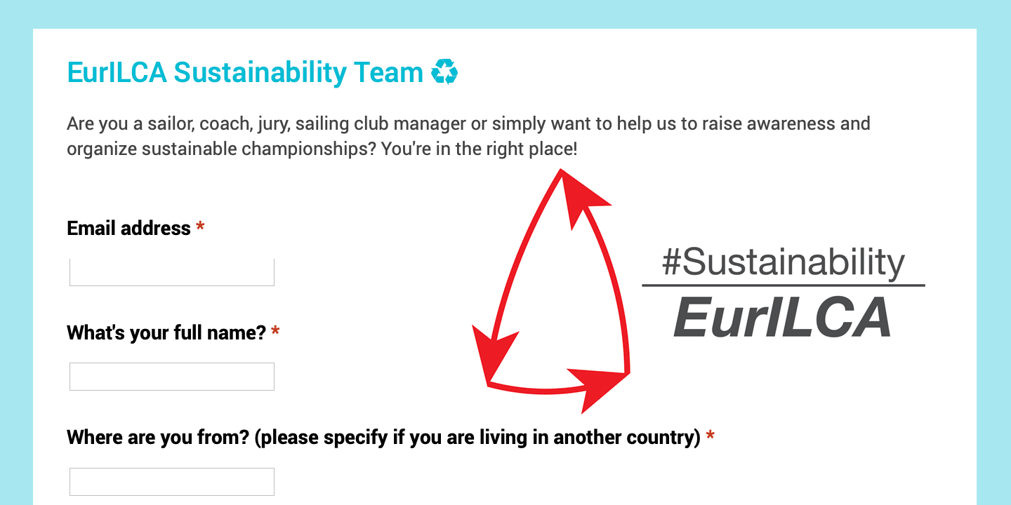 join our sustainability team