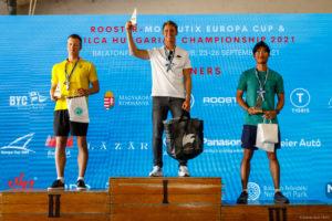 ilca 7 podium hungary